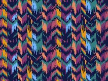 Ethnic seamless pattern. Tribal ethnic vector texture. Striped pattern in Aztec style. Ikat geometric folklore ornament. royalty free stock images