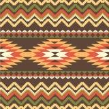 Ethnic seamless pattern Stock Photography