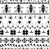 Ethnic seamless pattern 01 Royalty Free Stock Image