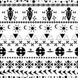 Ethnic seamless pattern 01 Royalty Free Stock Image
