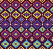 Ethnic seamless pattern. Vector illustration Stock Photos