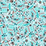 Ethnic seamless pattern. Vector illustration Royalty Free Stock Photo