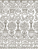 Ethnic seamless stripe pattern. Vector illustration for your cute design. Royalty Free Stock Images