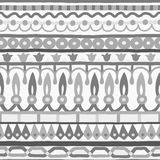 Ethnic seamless stripe pattern. Vector illustration for your cute design. Stock Images