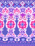 Ethnic seamless stripe pattern. Vector illustration for your cute design. Borders and frames Stock Images