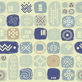 Ethnic seamless texture in african style Stock Images