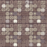 Ethnic seamless texture in african style Royalty Free Stock Photos