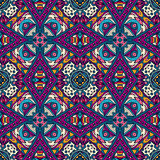 Ethnic seamless vector pattern ornamental. Abstract Tribal vintage ethnic seamless pattern ornamental Royalty Free Stock Images
