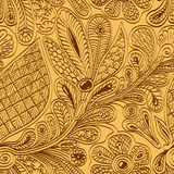 Ethnic  seamless vintage pattern Stock Images