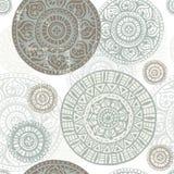 Ethnic  shabby seamless pattern Stock Photography