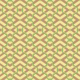 Ethnic shapes seamless pattern. Abstract pattern of indonesian batik Stock Photo