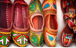 Ethnic shoes Royalty Free Stock Photos
