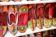 Ethnic shoes Stock Photos