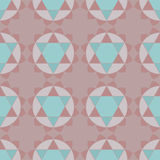 Ethnic spiritual geometric seamless pattern Royalty Free Stock Photo