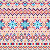 Ethnic striped seamless pattern. Royalty Free Stock Photography