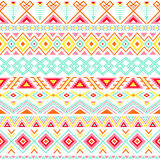 Ethnic striped seamless pattern. Stock Photos
