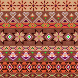 Ethnic striped seamless pattern. Royalty Free Stock Photos