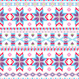Ethnic striped seamless pattern. Stock Image
