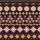 Ethnic striped seamless pattern. Stock Images