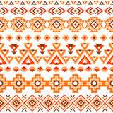 Ethnic striped seamless pattern. Stock Photo