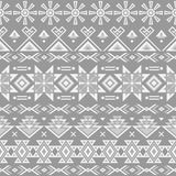 Ethnic striped seamless pattern. Royalty Free Stock Image