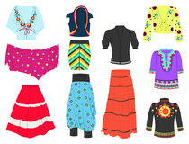 Ethnic style Stock Photography