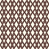 Ethnic style seamless pattern with repeated diamonds. Native americans background. Tribal motif. Eclectic wallpaper. Ethnic style abstract seamless pattern with Royalty Free Stock Photo