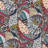Ethnic style fashion African seamless pattern. vector illustration