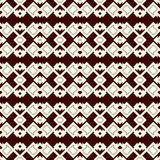 Ethnic style outline seamless pattern. Native americans abstract background. Tribal motif. Boho chic digital paper Royalty Free Stock Photo
