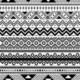 Ethnic style pattern royalty free illustration