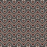 Ethnic style seamless pattern with chevron lines. Native americans ornamental background. Tribal motif. Colorful mosaic. Wallpaper. Boho chic digital paper Stock Image