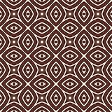 Ethnic style seamless pattern with floral motif. Outline abstract background. Tribal ornament. Boho chic digital paper, textile print, page fill. Vector art Royalty Free Stock Photography