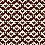 Ethnic style seamless pattern with geometric figures. Native americans ornamental abstract background. Tribal motif. Boho chic digital paper, textile print Royalty Free Stock Image