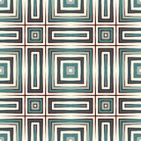 Ethnic style seamless pattern with geometric figures. Native americans ornamental abstract background. Tribal motif. Royalty Free Stock Images