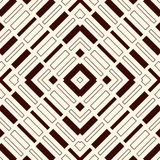 Ethnic style seamless pattern with geometric figures. Repeated stripes ornamental abstract background. Tribal motif. Royalty Free Stock Image