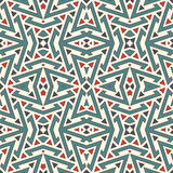 Ethnic style seamless pattern. Native americans abstract background. Tribal motif. Boho chic digital paper Royalty Free Stock Photos