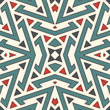 Ethnic style seamless pattern. Native americans abstract background. Tribal motif. Boho chic digital paper Stock Photography