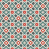 Ethnic style seamless pattern. Native americans abstract background. Tribal motif. Boho chic digital paper Stock Photo