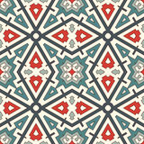 Ethnic style seamless pattern. Native americans abstract background. Tribal motif. Boho chic digital paper Stock Image