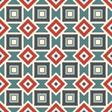 Ethnic style seamless pattern. Native americans abstract background. Tribal motif. Boho chic digital paper Stock Images