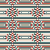 Ethnic style seamless pattern. Native americans abstract background. Tribal motif. Boho chic digital paper Royalty Free Stock Images