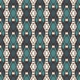 Ethnic style seamless pattern with repeated diamonds. Native americans background. Tribal motif. Eclectic wallpaper. Ethnic style abstract seamless pattern with Stock Images