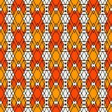 Ethnic style seamless pattern with repeated diamonds. Native americans background. Tribal motif. Eclectic wallpaper. Ethnic style abstract seamless pattern with Royalty Free Stock Photography