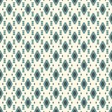 Ethnic style seamless pattern with repeated diamonds. Native americans background. Tribal motif. Eclectic wallpaper. Ethnic style abstract seamless pattern with Royalty Free Stock Images