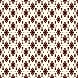 Ethnic style seamless pattern with repeated diamonds. Native americans background. Tribal motif. Eclectic wallpaper. Ethnic style abstract seamless pattern with stock illustration