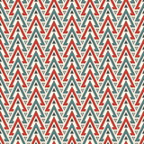 Ethnic style seamless pattern with repeated triangles. Native americans ornamental abstract background. Tribal motif. Boho chic digital paper, textile print vector illustration