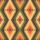 Ethnic style seamless pattern Stock Image