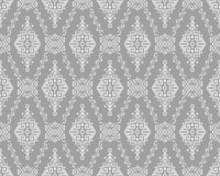 Ethnic Style Vector Seamless Pattern. Vector Seamless Pattern in Ethnic Style. Creative tribal endless ornament, perfect for textile design, wrapping paper stock illustration