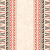 Ethnic textile striped pattern Royalty Free Stock Image