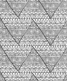 Ethnic triangle pattern Stock Images